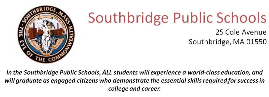 Southbridge Public Schools - Physical Education Teacher(SY19-20
